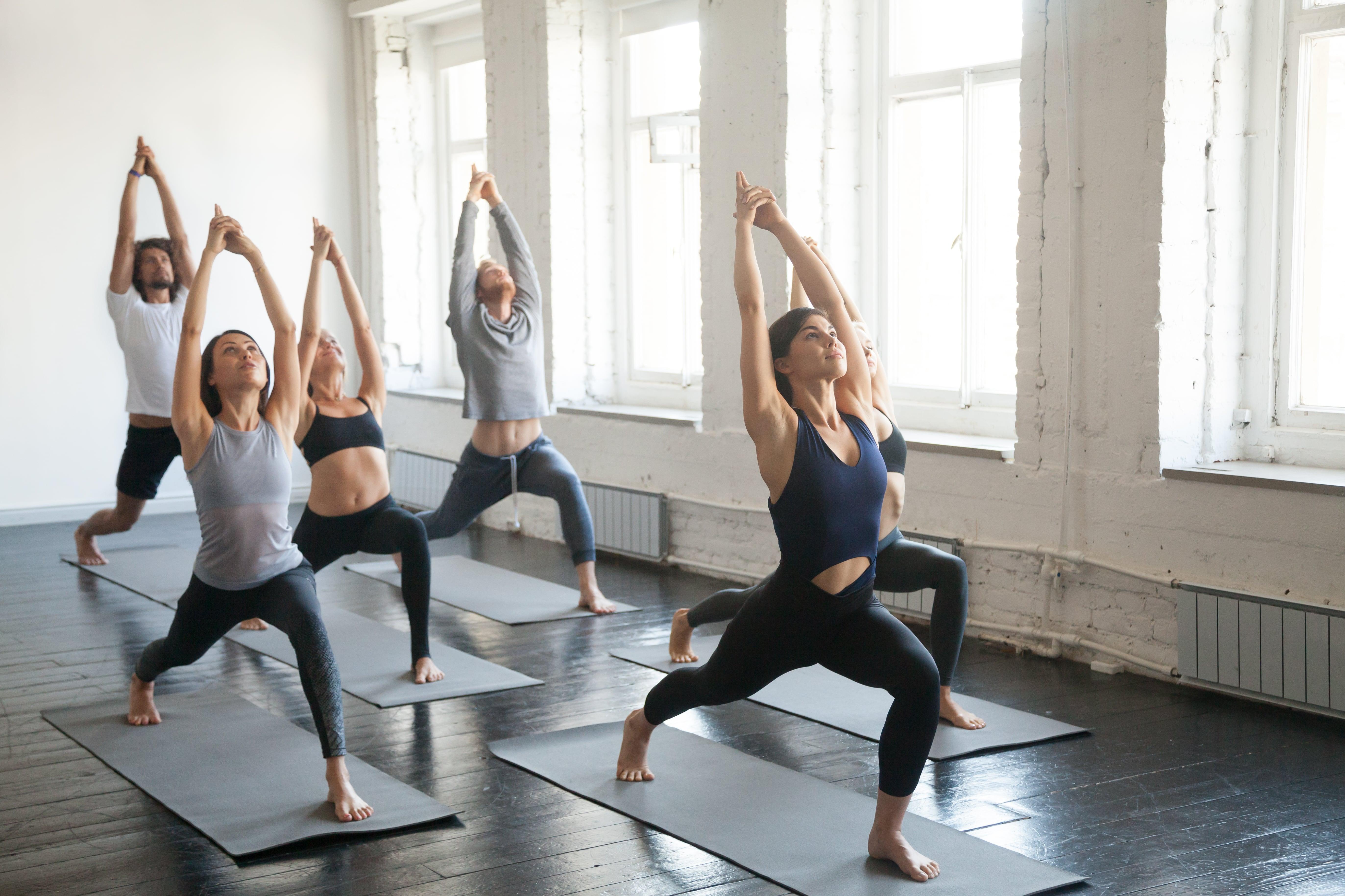 Yin yoga nu ook op zondag